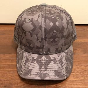 Oakley Staple Pigeon Camo New Era Fitted Hat 7 3/8